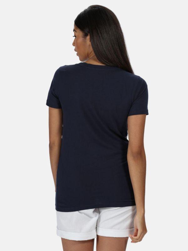 Bawełniana koszulka damska Regatta Filandra