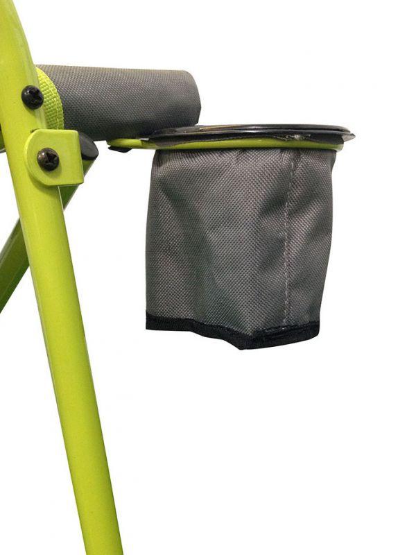 Zielone krzesło ogrodowe Coleman Bungee