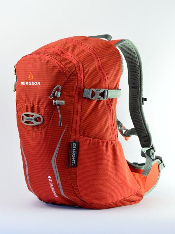 Pomarańczowy plecak wycieczkowy Bergson Arendal 25l