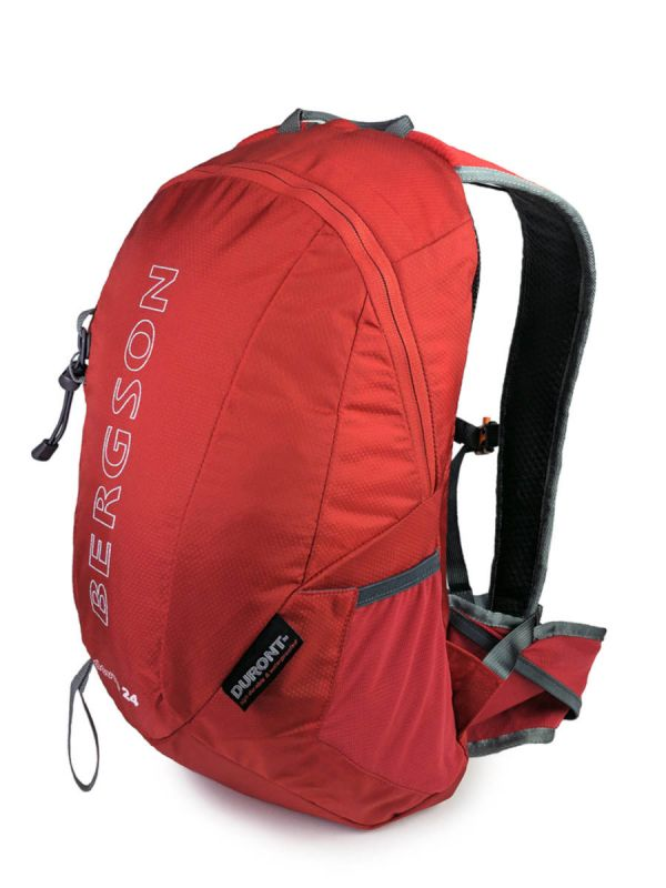 Czerwony plecak turystyczny Bergson Dovre 24l