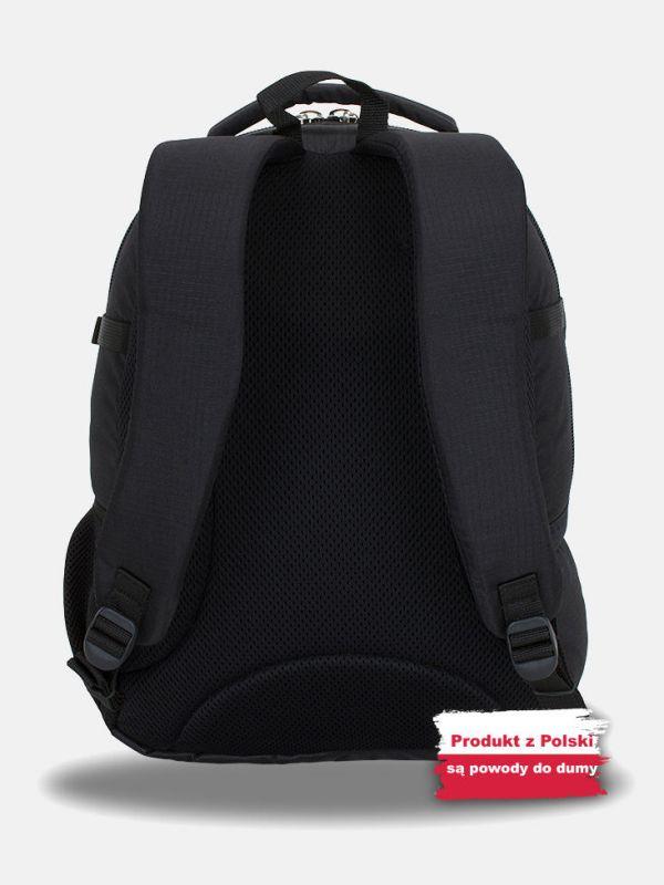 Czarny plecak wycieczkowy Campus Murter 35l