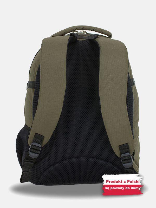 Oliwkowy plecak wycieczkowy Campus Murter 35l