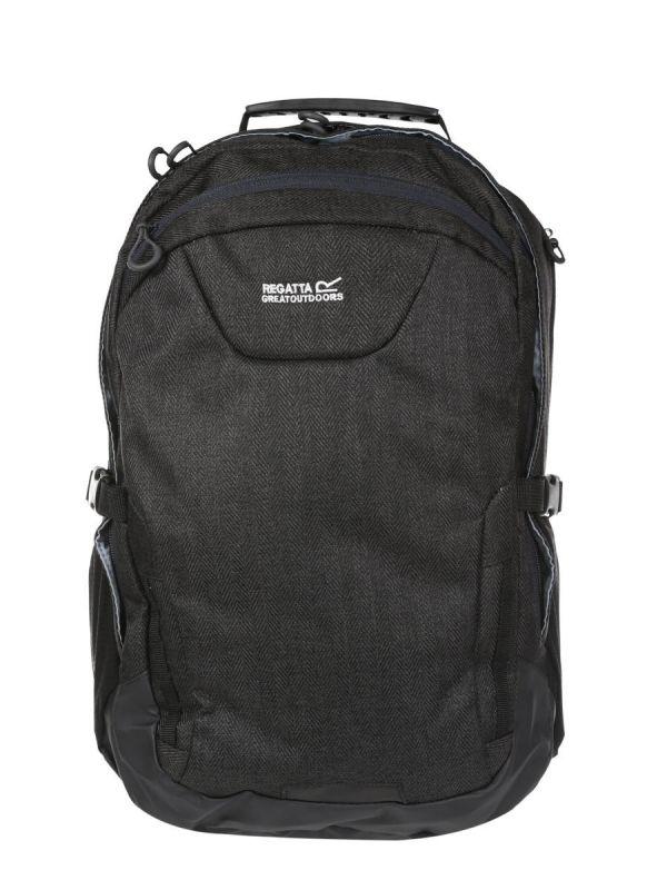 Czarny plecak Regatta Cartar 25l Laptop 12