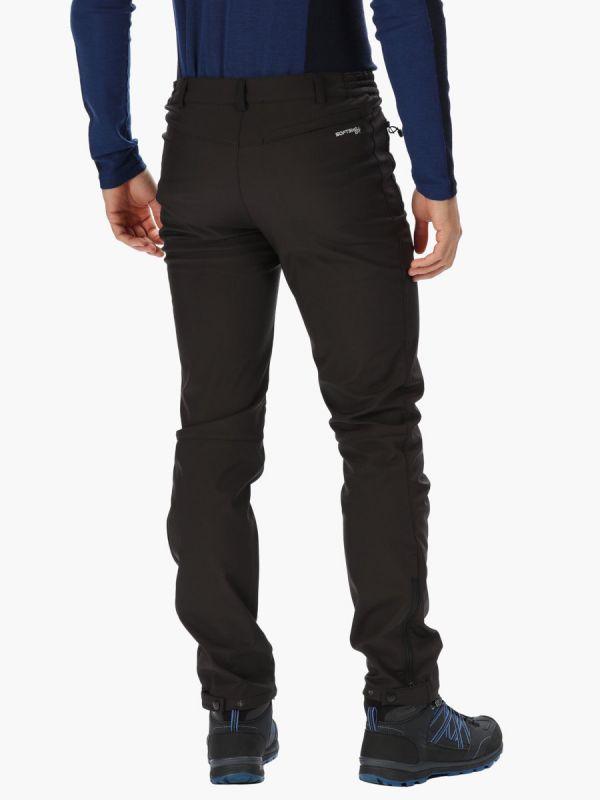 Ciepłe spodnie softshellowe Regatta Geo Softshell II