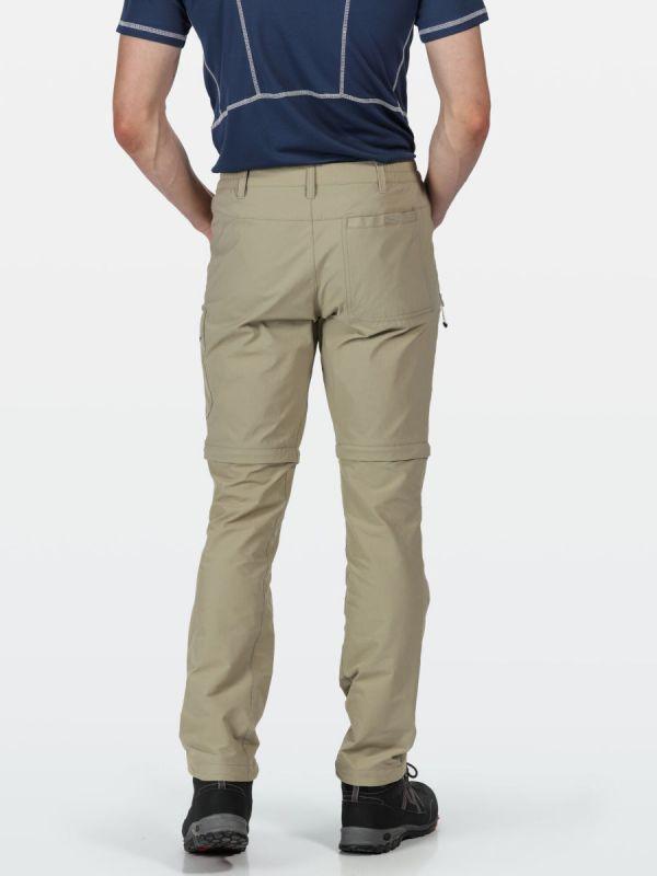 Męskie spodnie turystyczne Regatta Highton Zip Off
