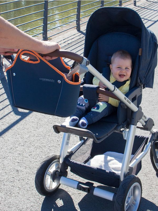 Torba termiczna na wózek dziecięcy 2w1 Campingaz Tropic Trolley 5l