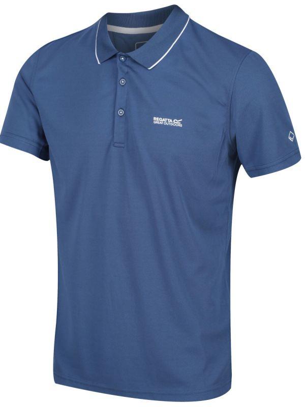 Niebieska koszulka polo Regatta Maverick V Szybkoschnąca