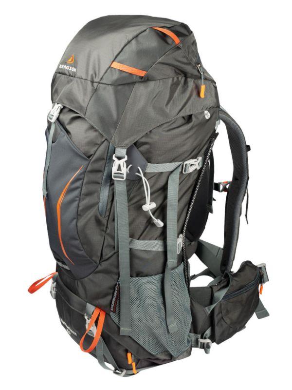 Szary plecak Bergson Matterhorn 60l