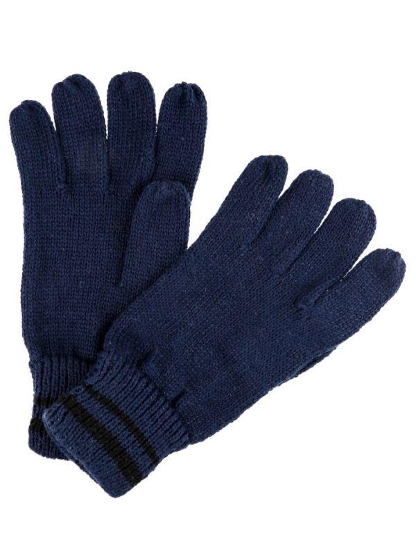 Granatowe rękawiczki męskie Regatta Balton