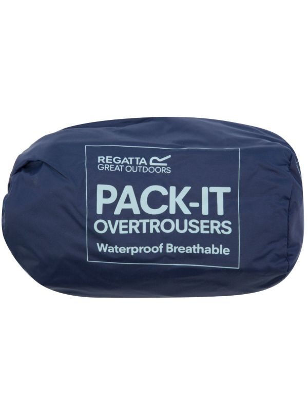 Cienkie spodnie przeciwdeszczowe Regatta Pack It