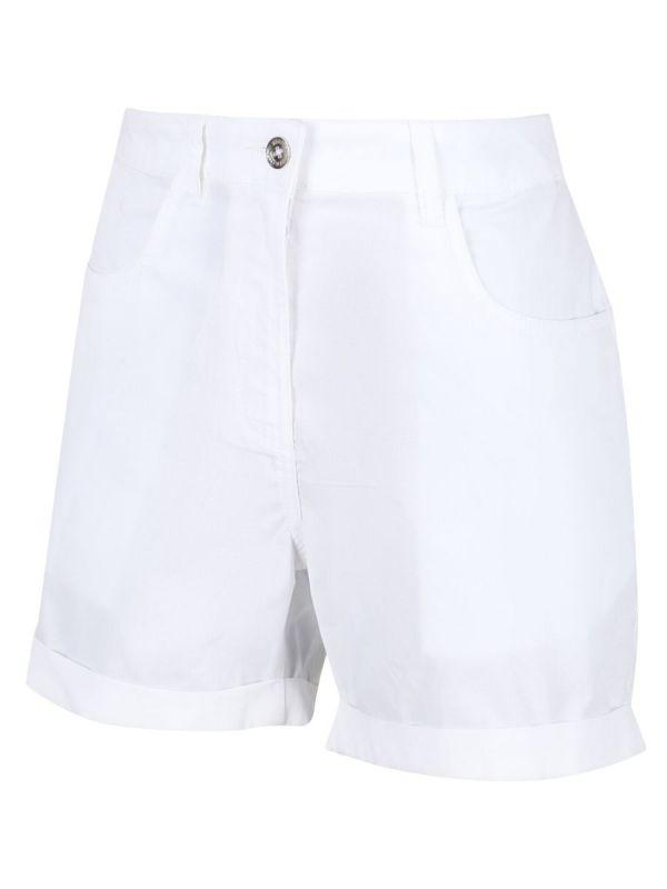 Białe szorty miejskie Regatta Pemma