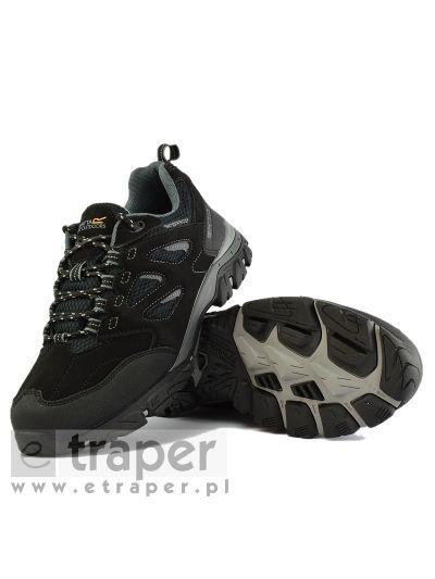 3fb83bf6 Czarne buty turystyczne niskie Regatta Holcombe IEP