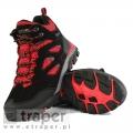 Mocne buty dla dzieci z wysoką cholewką