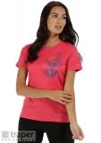 Różowa koszulka sportowa damska Regatta Fingal