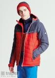 Czerwona kurtka na narty dla panów Slalom Dare 2b