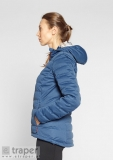 Niebieska kurtka puchowa Maddner Berg Outdoor