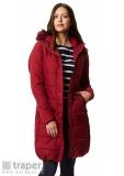 Czerwony płaszcz damski Regatta Fermina