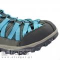 Sandały z zabudowanymi palcami Regatta Niebieskie