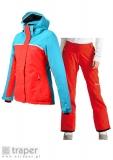 Czerwony zestaw narciarski damski Dare 2b
