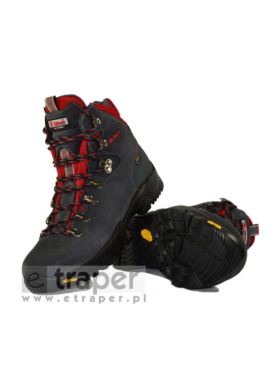 74592bbfca399 Skórzane buty górskie Chiruca Dynamic Czerwone Gore-Tex