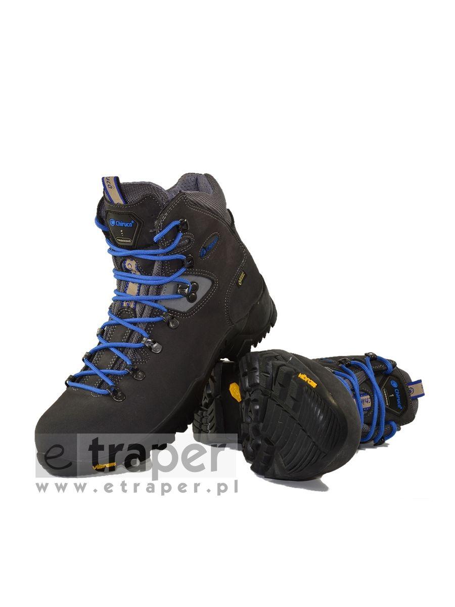 d4f8b74e40705 Skórzane buty górskie Chiruca Dynamic Niebieskie Gore-Tex
