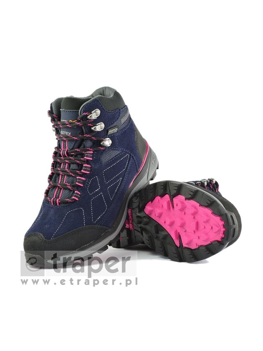 Damskie buty w góry Regatta Samaris Mid Zamsz Isotex