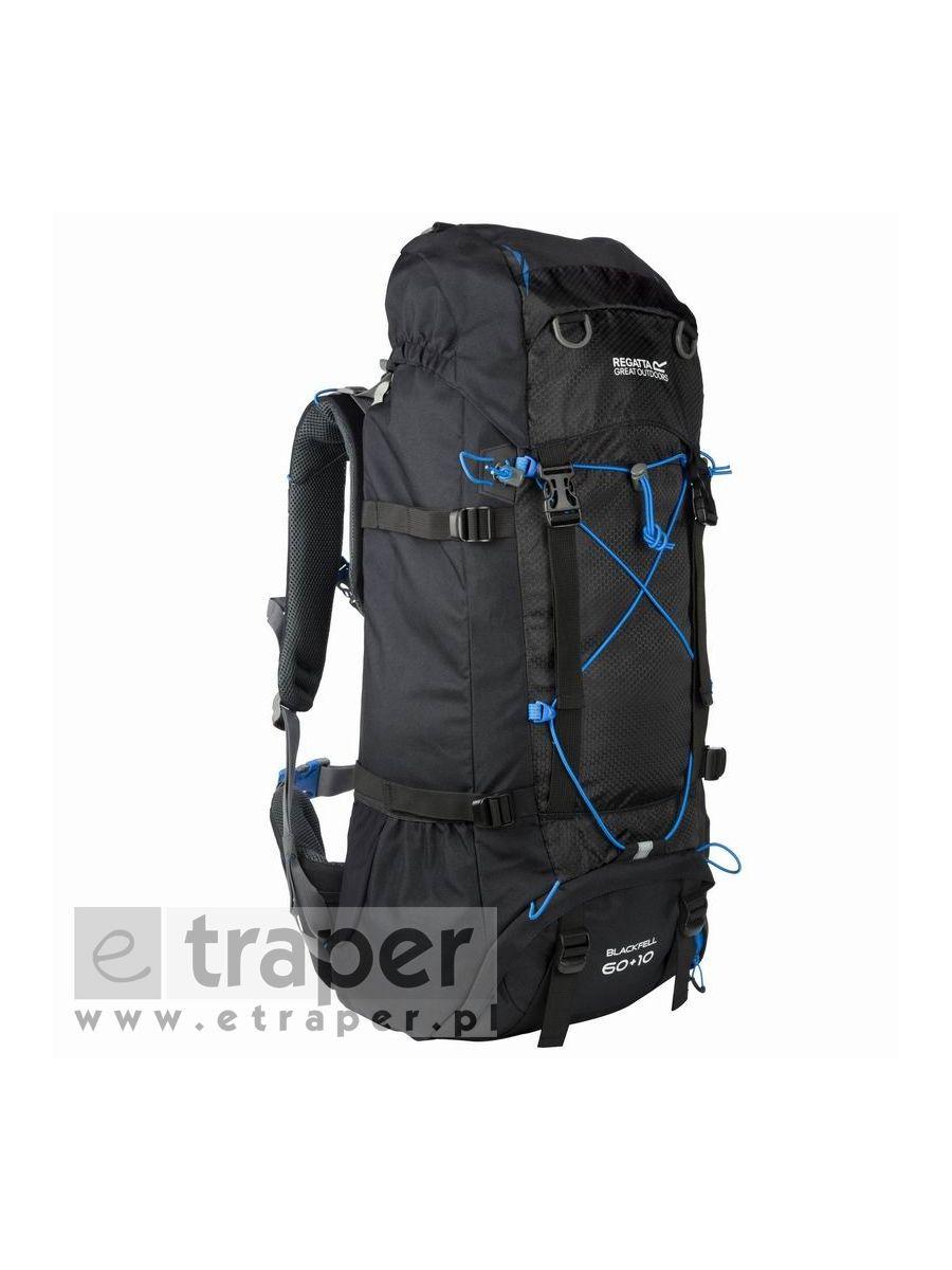 1c4867d143265 Duży plecak turystyczny Regatta Blackfell II 60l+10l Czarny