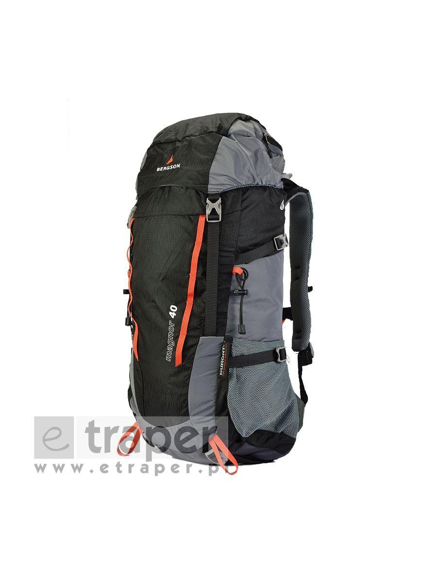 c3e3fe2bb849e Czarny plecak turystyczny Bergson Magnor 40l
