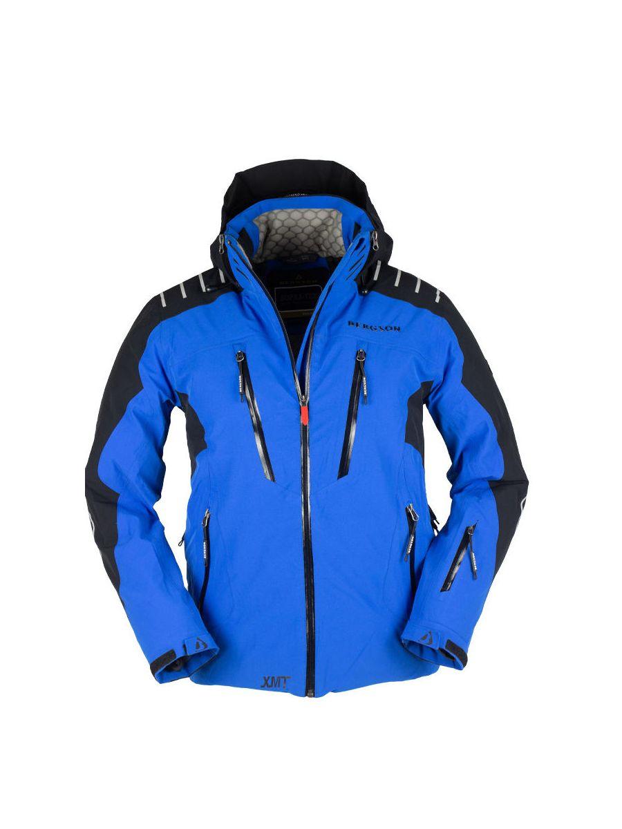 Kurtka narciarska męska BERGSON RACE X BLUE BRG00036