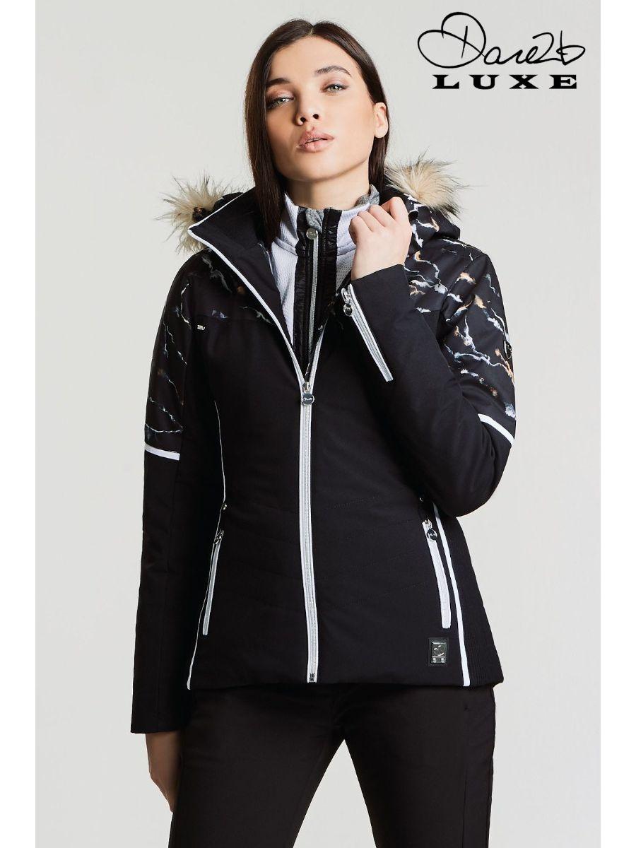 kurtka damska czarna na narty