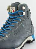 Szaro-niebieskie buty trekkingowe Dolomite dla kobiet