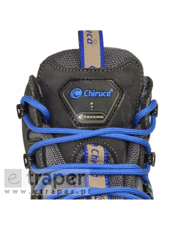 Skórzane buty górskie Chiruca Dynamic Niebieskie Gore-Tex