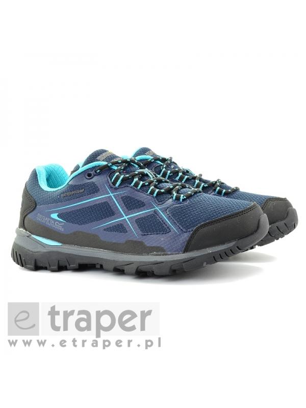 Niskie damskie buty Regatta Kota Low Granatowe