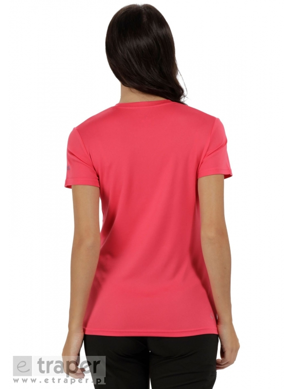 Damska różowa koszulka Regatta Fingal III