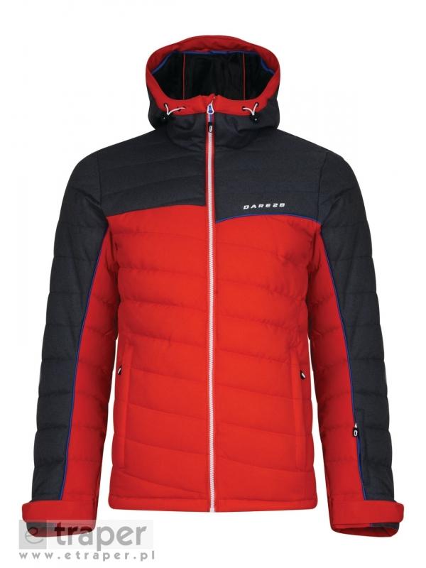 Wygodna kurtka na narty w kolorze czerwonym Slalom Dare 2b