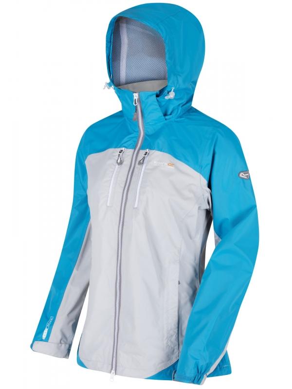 Damska kurtka przejściowa Regatta Calderdale II Szaro-niebieska