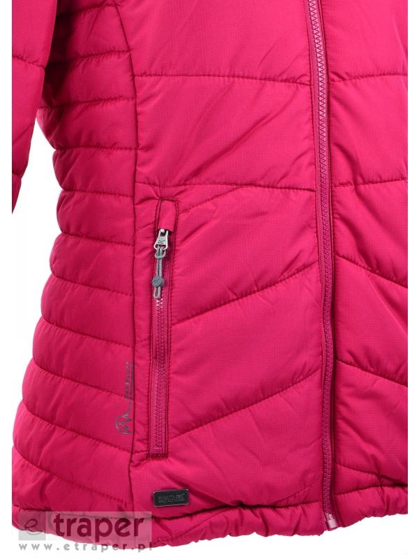 Ocieplana kurtka damska Regatta Nevado Kolor malinowy