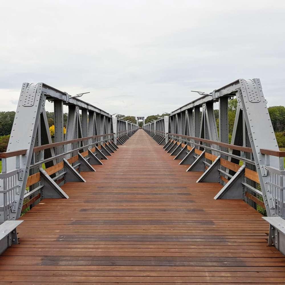 Kolej na rower, czyli ścieżka rowerowa przez powiat nowosolski
