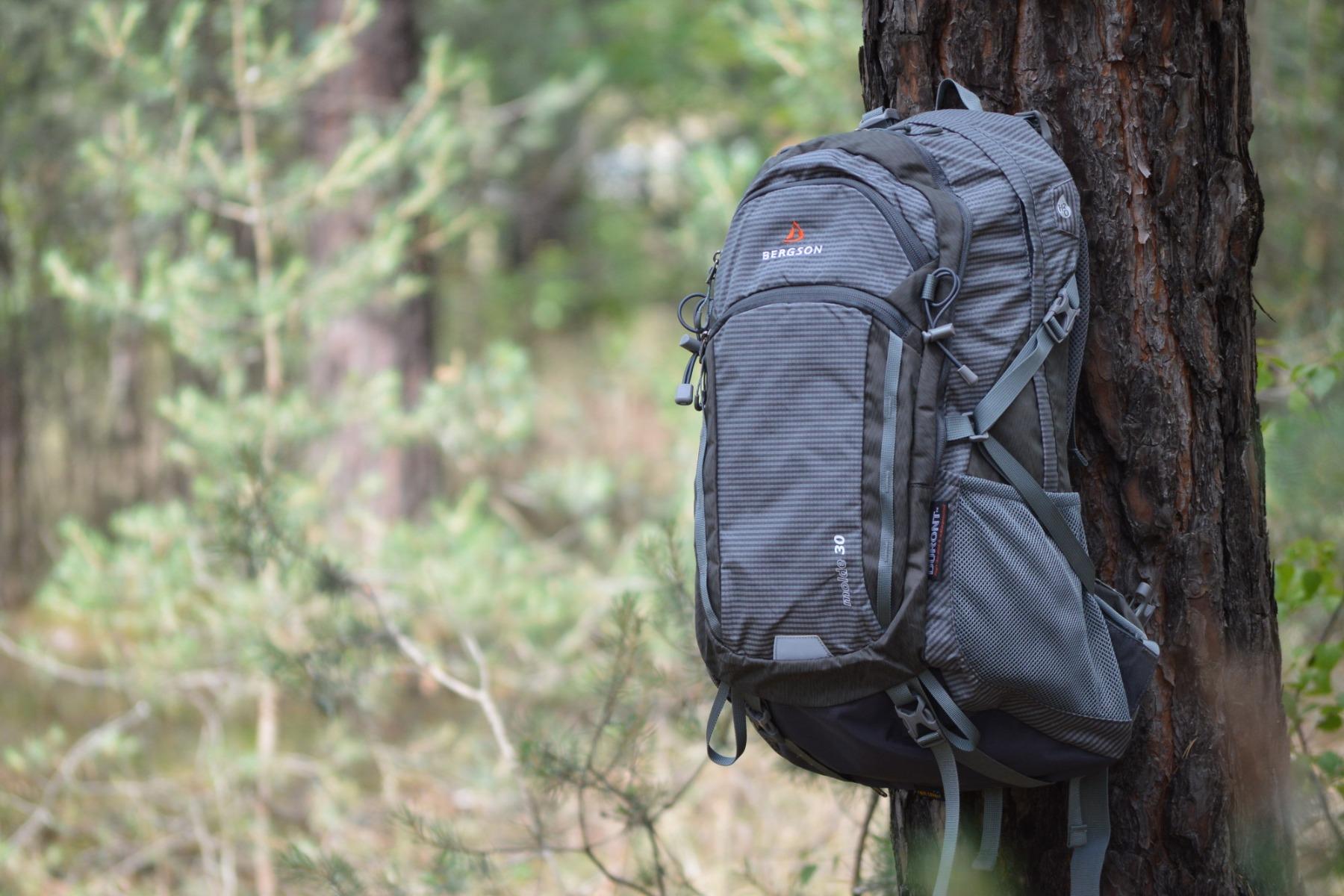Plecak Molde marki Bergson świetnie sprawdzi się na każdej wycieczce.