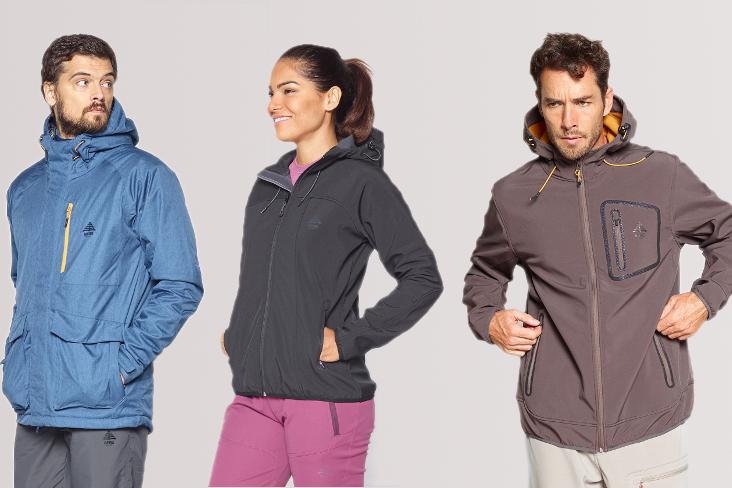 Grubsze i ciepłe kurtki softshellowe z membraną chroniącą przed deszczem i wiatrem. Doskonałe na co dzień, ale także w góry, gdzie pogoda będzie bardziej wymagająca