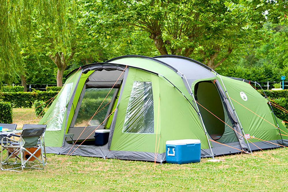 Coleman Vespucci 6 to nowoczesny namiot campingowy który doskonale sprawdzi się na długich wakacjach.