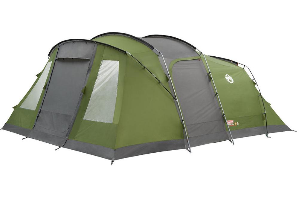 Bezpieczny, wygodny i nowoczesny namiot to podstawa udanych wakacji. Taki właśnie jest Vespucci marki Coleman.