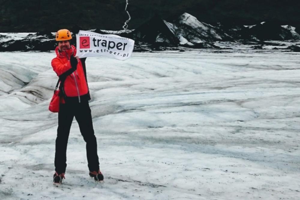 Ze swoimi Red Rock'ami nie rozstaję się nawet na lodowcach Islandii. Paskowe raki pasują do nich idealnie.