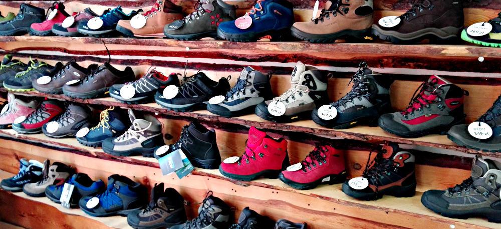 Duży wybór butów w sklepie eTraper