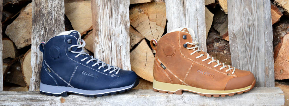 Wysokie buty skórzane na co dzień Dolomite Cinquantaquattro High Fg GTX