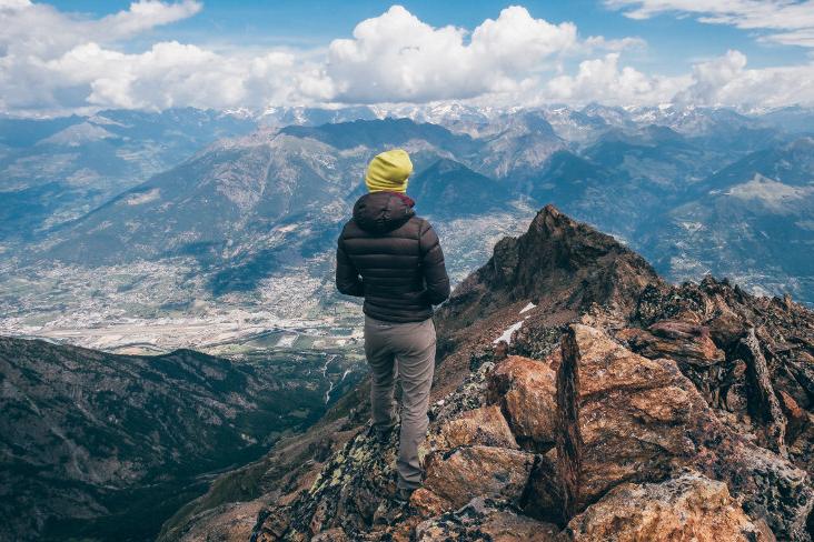 Berg Outdoor w dolinie Aosty w północno-zachodnich Włoszech