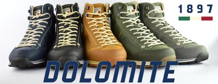 Skórzane buty Dolomite 54 High w różnych kolorach