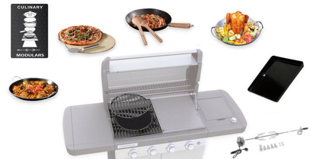Gotowanie, pieczenie, smażenie na grillu gazowym