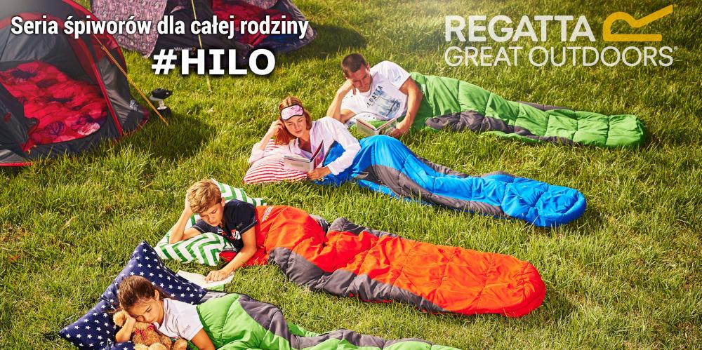 Śpiwory Hilo Regatta - dobry śpiwór letni pod namiot