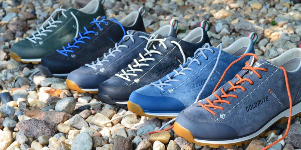 Buty niskie zamszowe Dolomite Cinquantaquattro